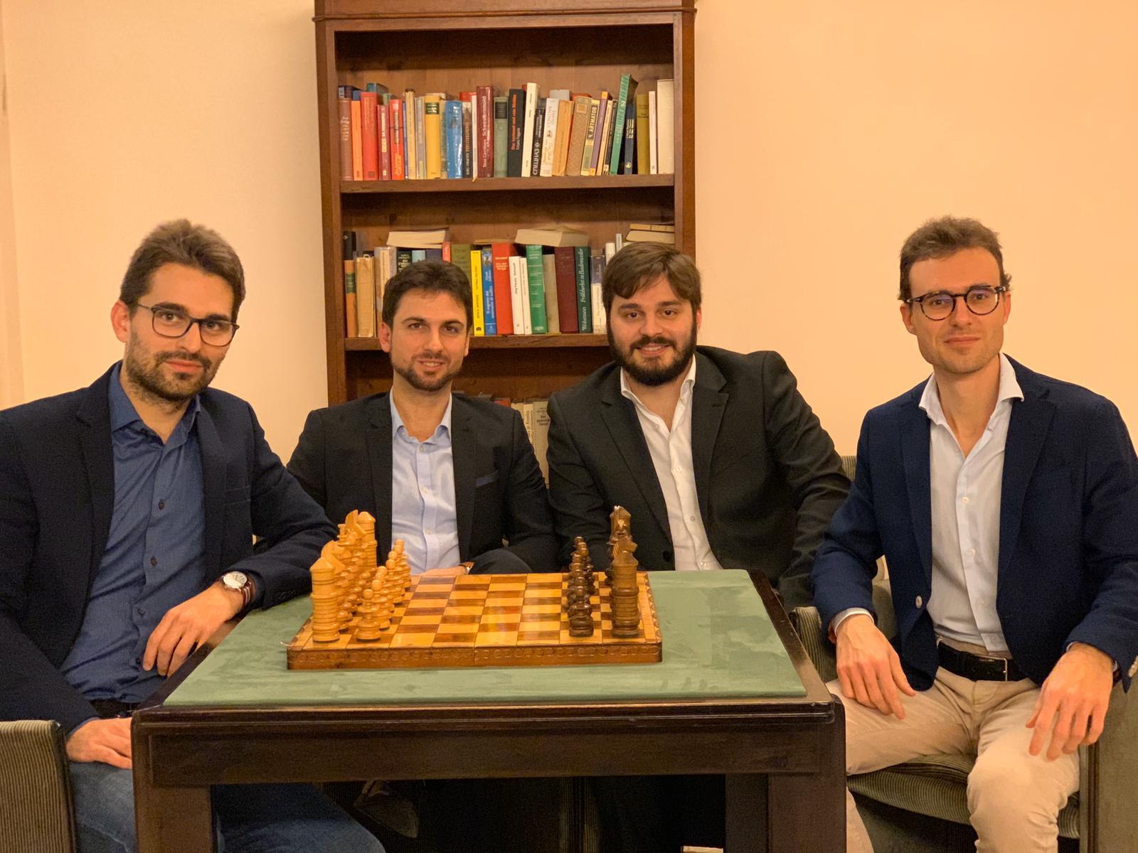 Team Educare con gli scacchi